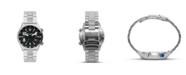 Columbia Men's Outbacker Silver-Tone Stainless Steel Bracelet Watch 42mm