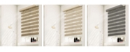 "Chicology Cordless Zebra Shades, Dual Layer Combi Window Blind, 54"" W x 72"" H"