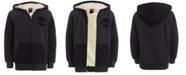 Timberland Big Boys Colorblocked Fleece-Lined Logo Hoodie