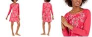 Sesoire Women's Printed Modal Short Nightgown