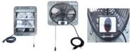 "iLiving 10"" Shutter Exhaust Attic Garage Grow Fan, Ventilation Fan with 3 Speed Thermostat"