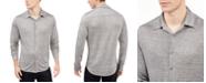 Alfani Men's Crinkle Textured Knit Shirt, Created For Macy's
