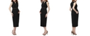 kimi + kai Helen Maternity Button Down Long Dress