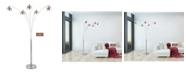 """Artiva USA Amore 86"""" LED Arched Floor Lamp with Dimmer, 5000 Lumens"""