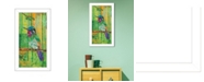 "Trendy Decor 4U Trendy Decor 4U Purple Throated Mountain Gem By Lisa Morales, Printed Wall Art, Ready to hang, White Frame, 14"" x 14"""