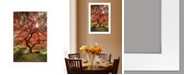 """Trendy Decor 4U First Colors of Fall II by Moises Levy, Ready to hang Framed Print, White Frame, 15"""" x 21"""""""