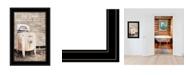 "Trendy Decor 4U Laundry Room by Lori Deiter, Ready to hang Framed Print, Black Frame, 15"" x 21"""