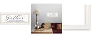 "Trendy Decor 4U Trendy Decor 4U Expert Advice by Lori Deiter, Ready to hang Framed Print, White Print, 23"" x 11"""