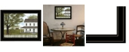 Trendy Decor 4U Trendy Decor 4U GREEN, GREEN GRASS OF HOME by Billy Jacobs - Ready to hang Framed Print Collection