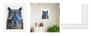 "Trendy Decor 4U Trendy Decor 4U Night Owl by andreas Lie, Ready to hang Framed Print, White Frame, 15"" x 19"""