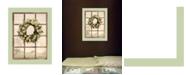 "Trendy Decor 4U Country Gazing by Lori Deiter, Ready to hang Framed Print, Sea Foam Green Window-Style Frame, 14"" x 18"""