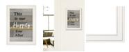 "Trendy Decor 4U Happily Ever After by Karen Tribett, Ready to hang Framed Print, White Frame, 15"" x 21"""