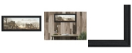 "Trendy Decor 4U Peace On Earth By John Rossini, Printed Wall Art, Ready to hang, Black Frame, 21"" x 9"""
