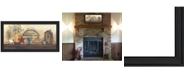 "Trendy Decor 4U Amazing Grace Shelf By Gail Eads, Printed Wall Art, Ready to hang, Black Frame, 37"" x 19"""