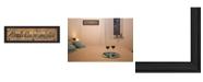 "Trendy Decor 4U Always Kiss Me Goodnight By Gail Eads, Printed Wall Art, Ready to hang, Black Frame, 23"" x 8"""
