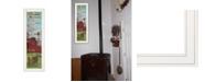 """Trendy Decor 4U Farmers Prayer by Cindy Jacobs, Ready to hang Framed Print, White Frame, 11"""" x 33"""""""
