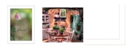 """Trendy Decor 4U Blessed By Robin-Lee Vieira, Printed Wall Art, Ready to hang, White Frame, 14"""" x 20"""""""