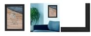 "Trendy Decor 4U Trendy Decor 4U A Gift By Robin-Lee Vieira, Printed Wall Art, Ready to hang, Black Frame, 15"" x 21"""