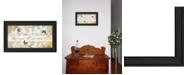 "Trendy Decor 4U Plant Kindness By Robin-Lee Vieira, Printed Wall Art, Ready to hang, Black Frame, 21"" x 12"""