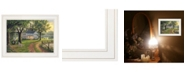 """Trendy Decor 4U Coming Home by Kim Norlien, Ready to hang Framed Print, White Frame, 21"""" x 15"""""""
