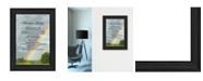 "Trendy Decor 4U Trendy Decor 4U Rainbow Bridge by Ready to hang Framed Print, Black Frame, 11"" x 15"""