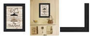 """Trendy Decor 4U The Daily Grind by Millwork Engineering, Ready to hang Framed Print, Black Frame, 11"""" x 15"""""""