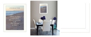"Trendy Decor 4U Character By Trendy Decor4U, Printed Wall Art, Ready to hang, White Frame, 18"" x 14"""