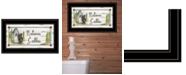 """Trendy Decor 4U Nature Calls by Mary Ann June, Ready to hang Framed Print, Black Frame, 21"""" x 12"""""""