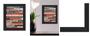"Trendy Decor 4U America Proud By Marla Rae, Printed Wall Art, Ready to hang, Black Frame, 10"" x 14"""