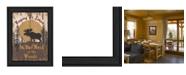 "Trendy Decor 4U Keeping It Simple By Linda Spivey, Printed Wall Art, Ready to hang, Black Frame, 20"" x 14"""