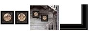 "Trendy Decor 4U Owl Always Love Need You 2-Piece Vignette by Marla Rae, Black Frame, 15"" x 15"""