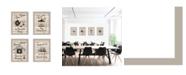 """Trendy Decor 4U Friendship Collection 4-Piece Vignette by Millwork Engineering, Sand Frame, 10"""" x 14"""""""
