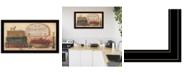 "Trendy Decor 4U Primitives Vintage-Like by Pam Britton, Ready to hang Framed Print, Black Frame, 33"" x 19"""