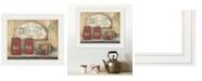 "Trendy Decor 4U Trendy Decor 4U CHERRY JAM by Pam Britton, Ready to hang Framed print, White Frame, 17"" x 14"""