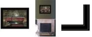 "Trendy Decor 4U Trendy Decor 4U Warm Summer's Eve by Billy Jacobs, Ready to hang Framed Print, Black Frame, 19"" x 15"""