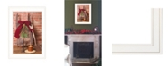 """Trendy Decor 4U Let Christmas Live by Billy Jacobs, Ready to hang Framed Print, White Frame, 15"""" x 21"""""""