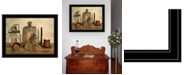 """Trendy Decor 4U Sweet Cream Butter by Billy Jacobs, Ready to hang Framed Print, Black Frame, 27"""" x 21"""""""