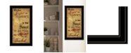 """Trendy Decor 4U Sound of the Soul by Billy Jacobs, Ready to hang Framed Print, Black Frame, 15"""" x 27"""""""