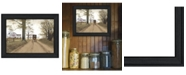"Trendy Decor 4U Headin' Home By Billy Jacobs, Printed Wall Art, Ready to hang, Black Frame, 19"" x 15"""