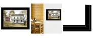 """Trendy Decor 4U Summer Afternoon by Billy Jacobs, Ready to hang Framed Print, Black Frame, 21"""" x 15"""""""