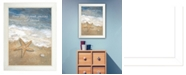"""Trendy Decor 4U Time Wasted By Annie LaPoint, Printed Wall Art, Ready to hang, White Frame, 14"""" x 10"""""""