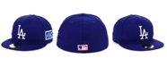 New Era Los Angeles Dodgers World Series Patch 59FIFTY Cap