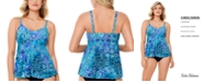Swim Solutions Underwire Tankini Top, Created for Macy's