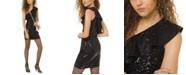 Michael Kors Sequined One-Shoulder Dress