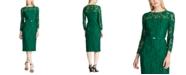 Lauren Ralph Lauren Floral Belted Dress