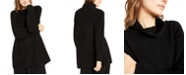 Eileen Fisher Textured Cowl-Neck Sweater
