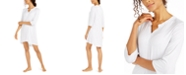 Ellen Tracy Women's Striped Sleepshirt Nightgown