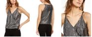 INC International Concepts INC Petite Metallic-Sequin Sleeveless Top, Created For Macy's