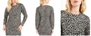 Michael Kors Jacquard Cat-Print Top, Regular & Petite Sizes