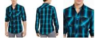 INC International Concepts INC Men's Leo Plaid Shirt, Created For Macy's